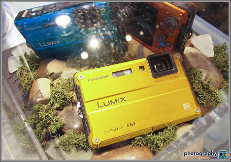 Panasonic Lumix TS2 Waterproof Digital Camera
