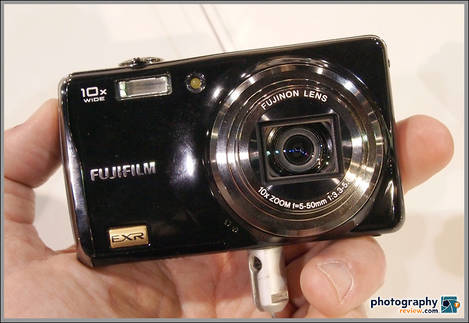 Fujifilm FinePix F80EXR Pocket Superzoom - PMA 2010