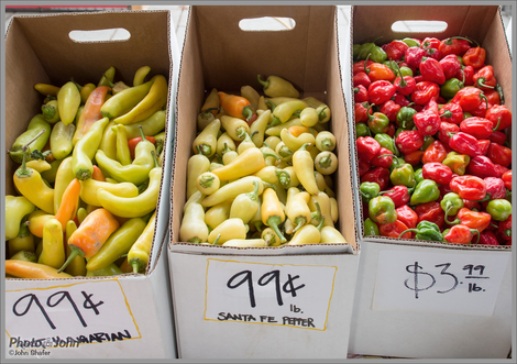 Farmers Market Chiles