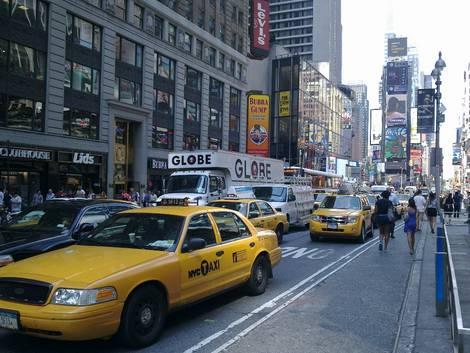 New York City street shot